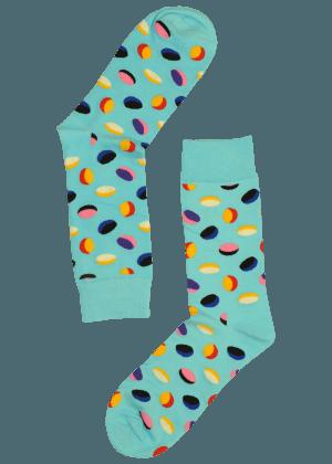 Heren Sokken Ovalen Blauw