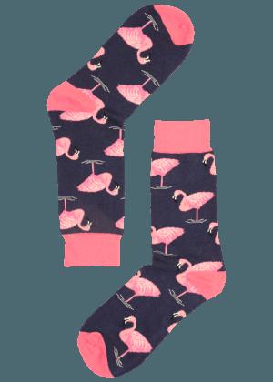 Heren Sokken Flamingo