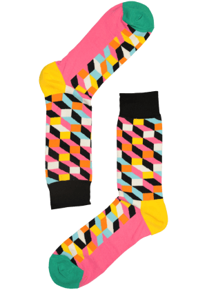 Happy Sokken Mannen Koningsok Illusie
