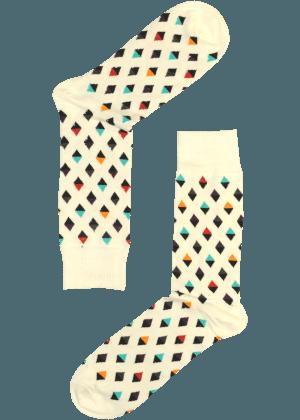 Heren Geruite Sokken Koningsok