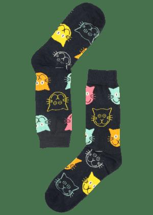 Heren Sokken met Katten