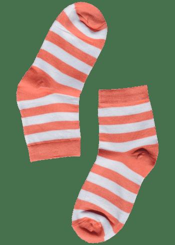 bamboe-sokken-dames-strepen-wit