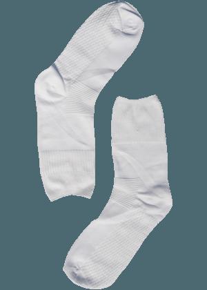 Stevige Witte bamboe sokken
