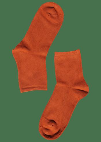 bamboe-sokken-dames-oranje