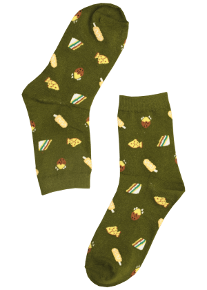 Dames sokken met sandwich