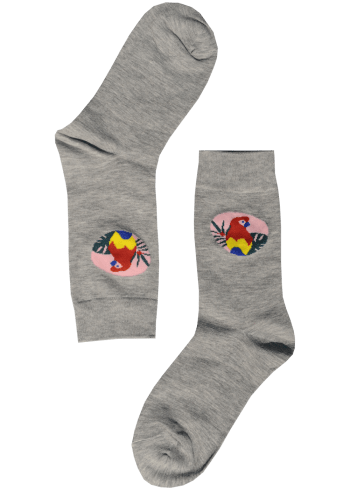 Dames-sokken-papegaai