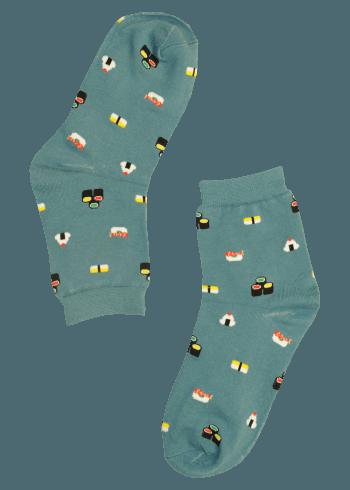 Vrouwen sokken met sushi