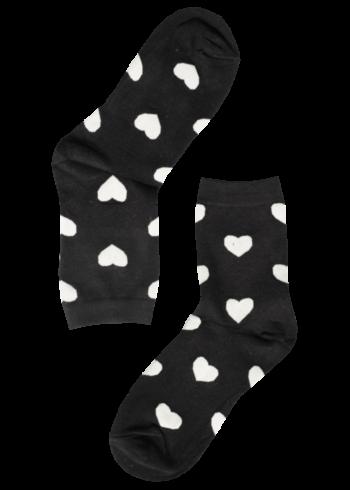 dames-sokken-hartjes-groot-zwart