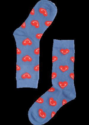 Hartjes-lichtblauw-sokken