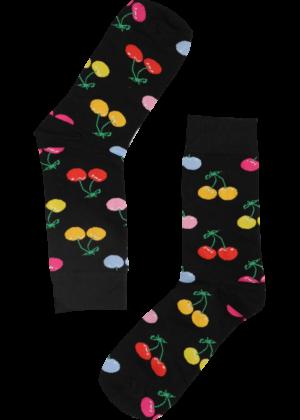 Kersen-kleuren-Sokken