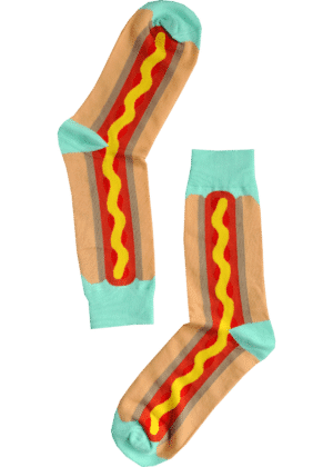 hotdog sokken