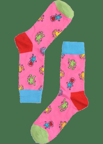 poppetjes met hartjes sokken