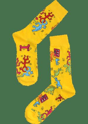 gekke poppetjes sokken